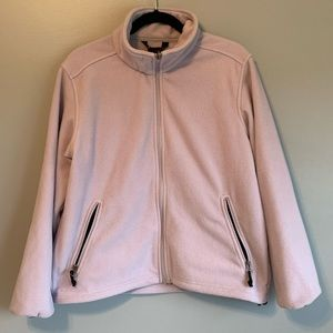 L.L. Bean Lilac Light Purple Medium Womens Jacket